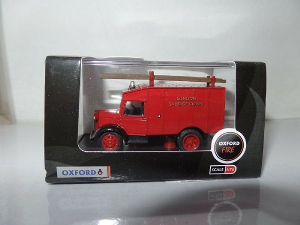 Oxford 76ATV006 ATV006 1/76 OO Scale Austin ATV Fire Unit London Salvage Corps
